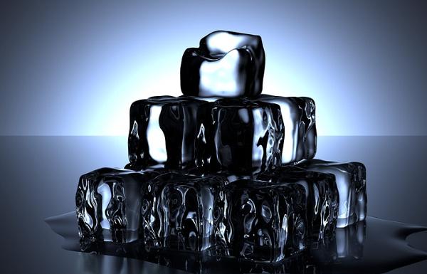 溶けている氷(アイスブレイク)