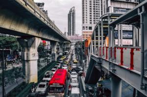 通勤の渋滞